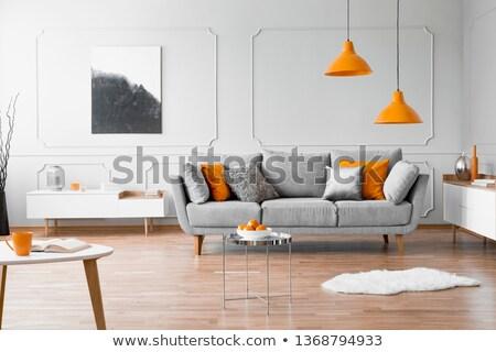 кожа · диван · четыре · красочный · темно - Сток-фото © hin255
