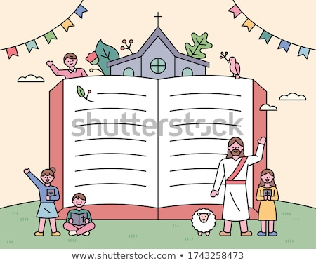 книга Церкви Библии религии христианской Сток-фото © jeancliclac