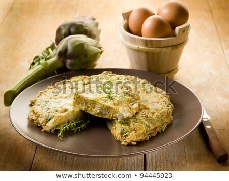 artichoke omelette Stock photo © nito