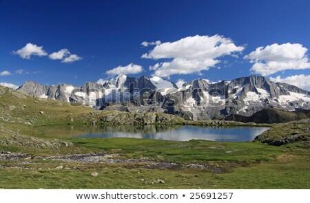 ледник лет мнение итальянский Альпы Сток-фото © Antonio-S