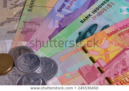 Különböző indonéz asztal bankjegyek üzlet pénz Stock fotó © CaptureLight
