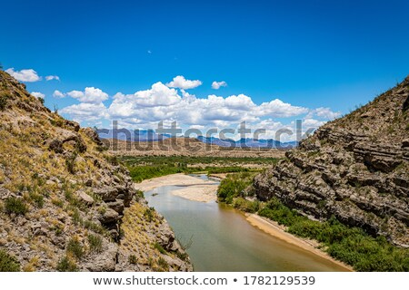 The scenic view of the Rio Grande Gorge National Park         Stock photo © tang90246