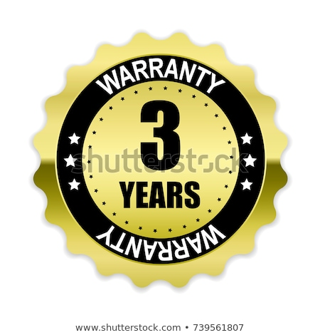 3 Years Warranty Purple Vector Icon Button stock photo © rizwanali3d