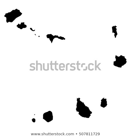 map of cape verde stock photo © rbiedermann