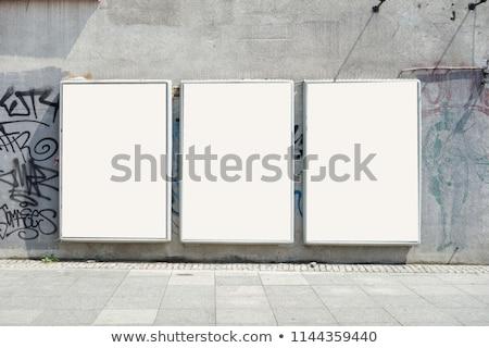 городского · Billboard · большой · копия · пространства · готовый · дизайна - Сток-фото © stevanovicigor