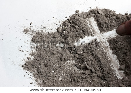 `Cross In The Sand Stock photo © rghenry
