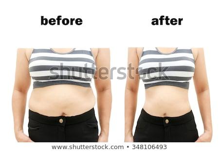 女性 胴 ダイエット 減量 成熟した女性 ストックフォト © roboriginal