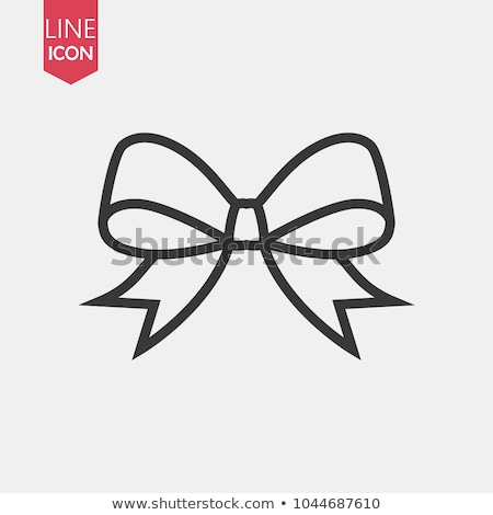Ribbon icons Stock photo © bluering