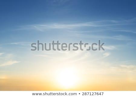 Reggel égbolt illusztráció felhők utazás repülőtér Stock fotó © bluering