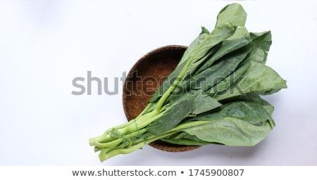 friss · kínai · káposzta · öreg · fából · készült · zöldségek - stock fotó © digifoodstock