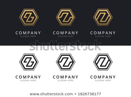文字z · カラフル · 六角形 · 抽象的な - ストックフォト © user_11138126