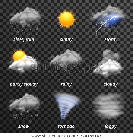 Clouds Weather Icon Concept Stock photo © Krisdog