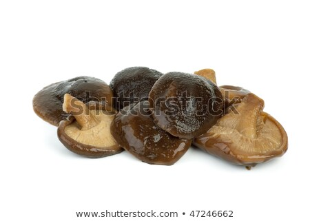 Some marinated shiitake mushrooms Stock photo © digitalr