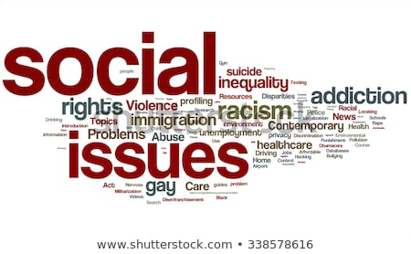 Social issues concept. Stock photo © 72soul