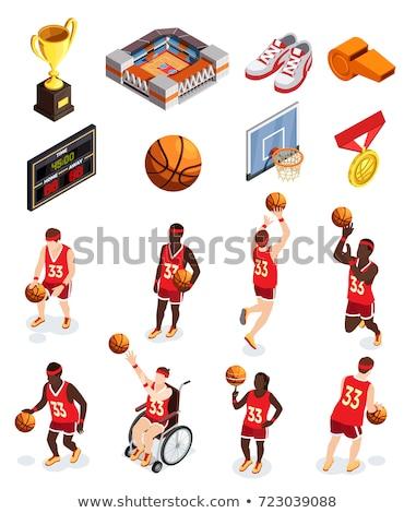 ハンドボール · フィールド · セット · 詳しい · 実例 · フィールド - ストックフォト © kup1984