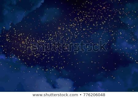 Night dark blue sky Stock photo © vapi