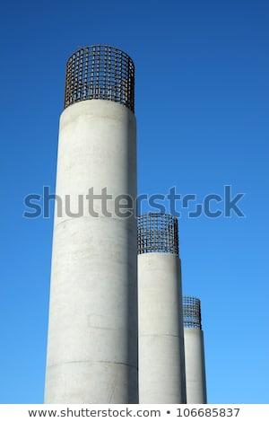 bridge engineery beams concrete columns Stock photo © lunamarina