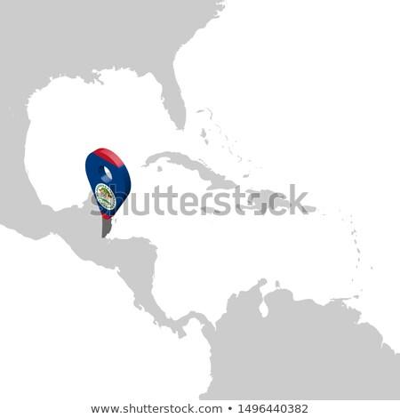 Belize · észak · Amerika · térképek · meg · térképészet - stock fotó © blaskorizov