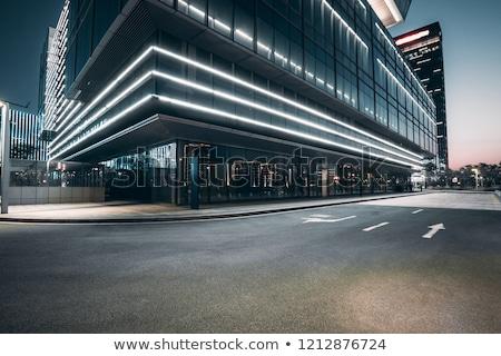 Urban street road scene Stock photo © bluering