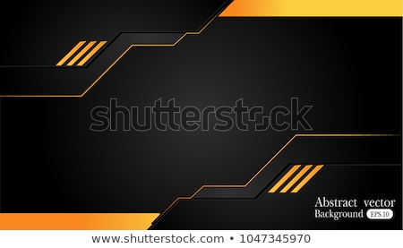 abstract orange technical background stock photo © orson