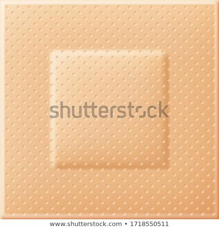 vector set of medical plaster Stock photo © olllikeballoon