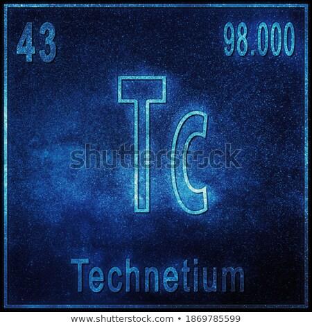 Atoom diagram illustratie abstract kunst onderwijs Stockfoto © bluering