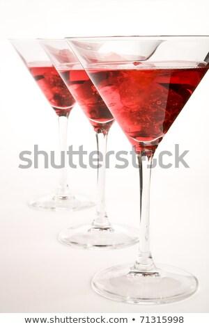 grup · cocktail-uri · bea · izolat · alb · clasic - imagine de stoc © dla4