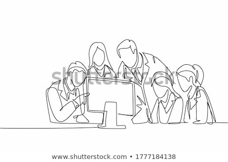 Healthcare and Medical concept, Doctor and patient are discussin Stock photo © Freedomz