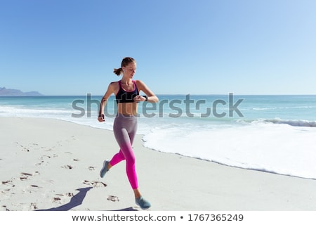 Summer Time Fun Relax People By Seaside Vacation Stock photo © robuart