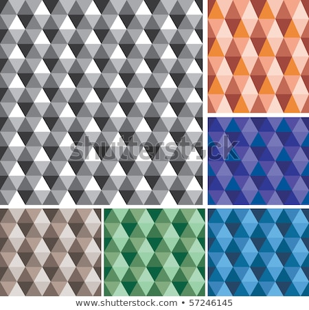 abstract colorful triangle shades repeated pattern background Stock photo © SArts