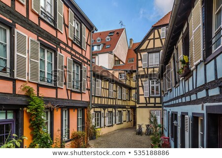 Courtyard in Strasbourg Stock photo © borisb17