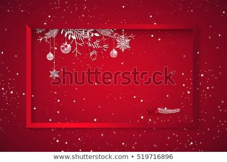 contemporanea · abstract · Natale · moderno · presenta · illustrazione · 3d - foto d'archivio © solarseven