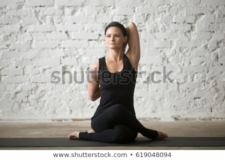 simple tank top woman_full-length Stock photo © toyotoyo