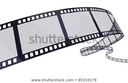 Purple film reel Stock photo © cidepix