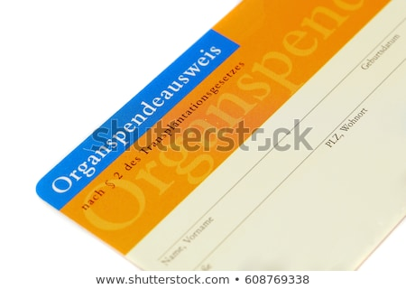 Doador cartão ilustração sorrir médico casal Foto stock © adrenalina