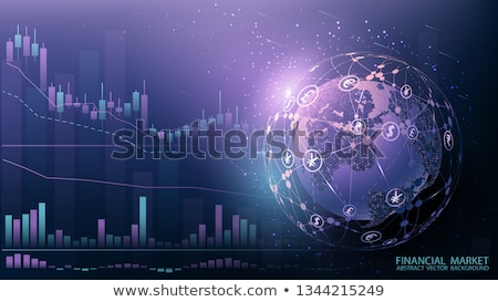 Finansowych wiele pośrednik wektora charakter Zdjęcia stock © robuart