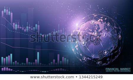 финансовых дело брокер Интернет маркетинг вектора характер Сток-фото © robuart