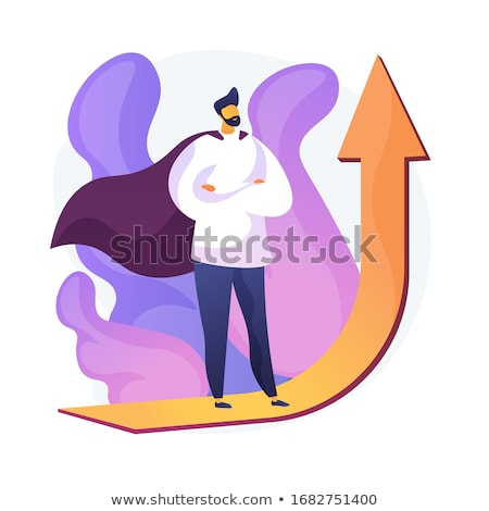 Worker Setting, Business Ambitions, Develop Vector Stock photo © robuart