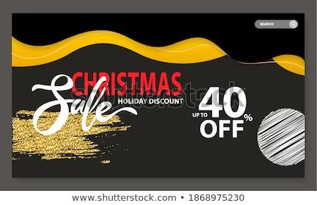 クリスマス 販売 40 パーセント オフ 提案 ストックフォト © robuart