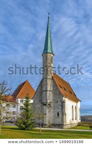 Capela castelo Alemanha viajar pedra arquitetura Foto stock © borisb17