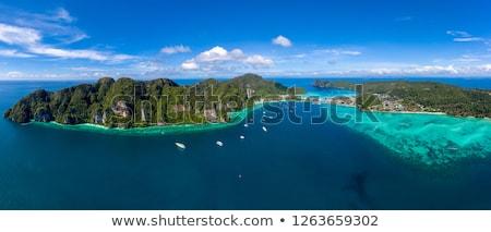 Panoramisch phuket panorama Thailand zomer Stockfoto © bloodua