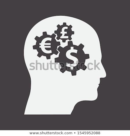 передач деньги человека Аватара профиль мнение Сток-фото © supertrooper
