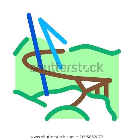 Малайзия природы икона вектора иллюстрация Сток-фото © pikepicture