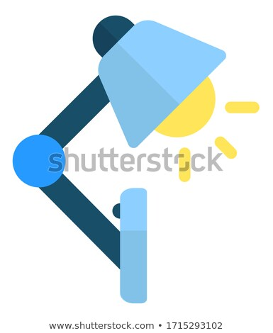 Esnek plastik tablo lamba gerek okumak Stok fotoğraf © robuart