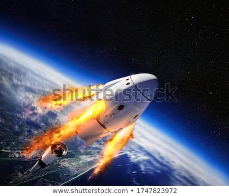 earth 9 stock photo © morrbyte