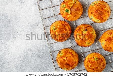 Savory Muffins Stock photo © StephanieFrey
