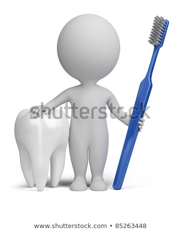 3d small people - dentist stock photo © AnatolyM