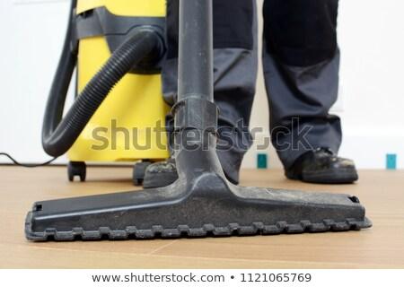 электрик · строительная · площадка · компьютер · дома · человека · счастливым - Сток-фото © photography33