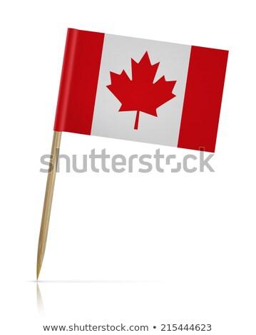 miniatura · bandeira · Canadá · isolado - foto stock © bosphorus