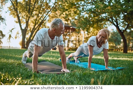 couple doing sport outdoors Stock photo © photography33